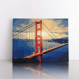 60x80cm  Golden Gate Bridge