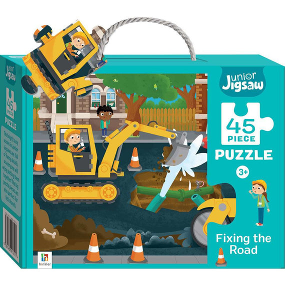 Junior Jigsaw 45 Piece Puzzle: Fixing the Road
