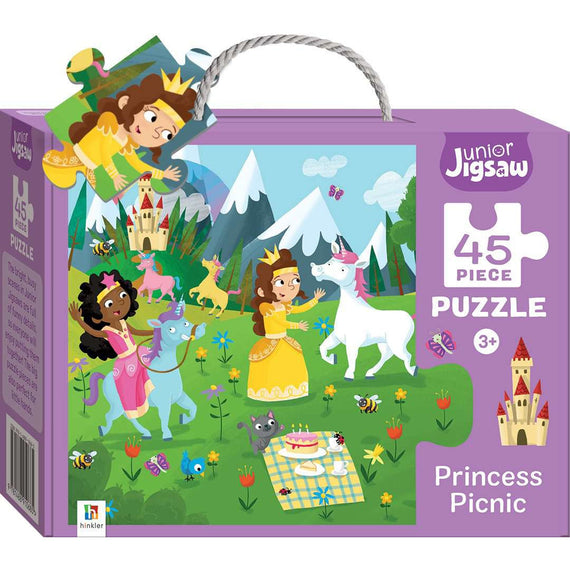 Junior Jigsaw 45 Piece Puzzle: Princess Picnic