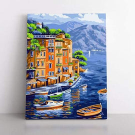 Paint By Numbers- 40x50cm  mediterranean living
