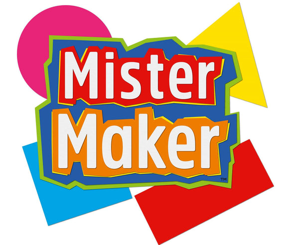 Mister Maker Party 350 Fun Sticker Book Set (3 books x 350 stickers)