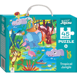 Junior Jigsaw 45 Piece Puzzle Series 3: Tropical Jungle