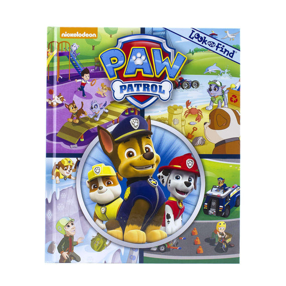 Paw Patrol Look and Find