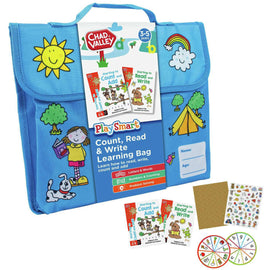 PlaySmart: Count, Read & Write Learning Bag