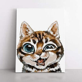 PaintbyNumber-40x50cm  playful kitten