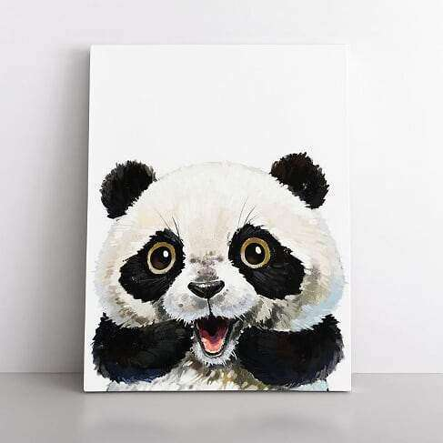 PaintbyNumber-40x50cm  playful panda