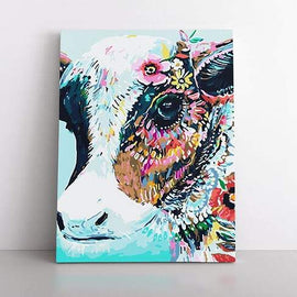PaintbyNumber-40x50cm  Pop Art Cow