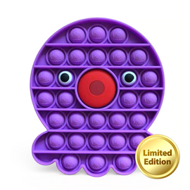 Pop It Sensory Fidget Toy Purple Octopus