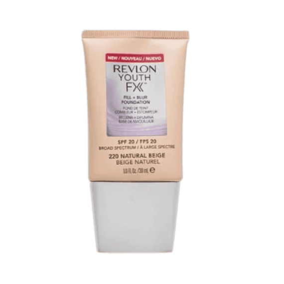 Revlon 30Ml Foundation Youth Fx Fill + Blur 220 Natural Beige (Non-Carded)