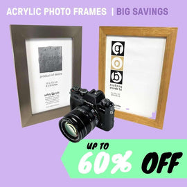 ACRYLIC PHOTO FRAMES | BIG SAVINGS