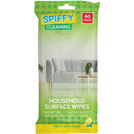 Spiffy Household Antibacterial Wipes