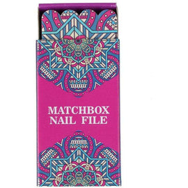 Indulge Matchbox Nail File Set