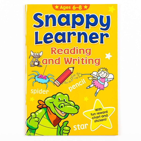 Snappy Learner: Reading and Writing (Ages 6 to 8)
