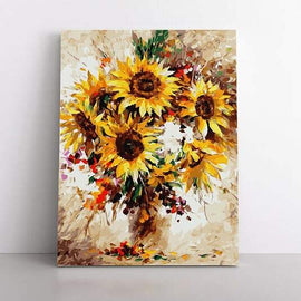 Paint By Numbers- 40x50cm  Sunflower Burst