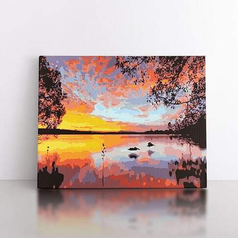 Paint By Numbers- 60x80cm  sunset delight