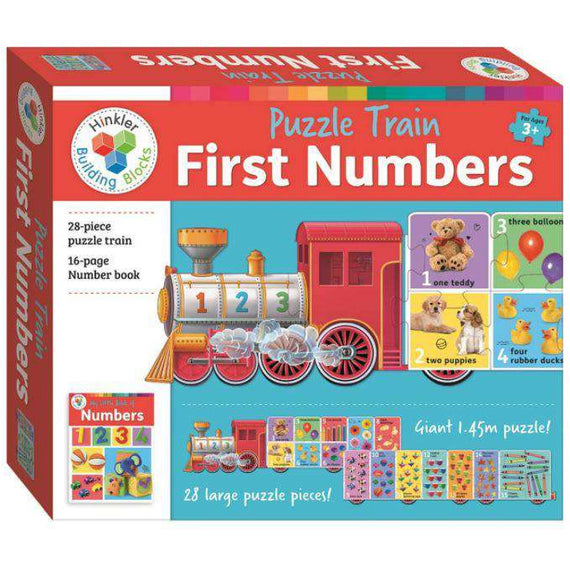 Puzzle Train: First Numbers- Hinklers Building Blocks