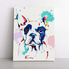 60x80cm  That Frenchie Love