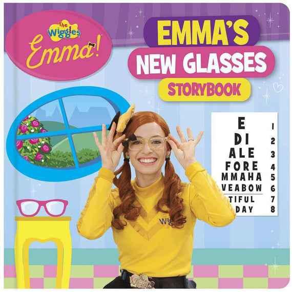 The Wiggles Emma! - Emma's New Glasses Storybook