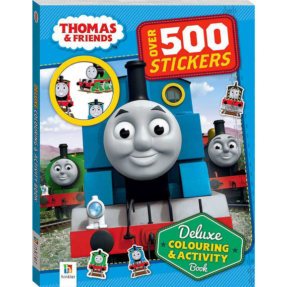 Thomas & Friends: Deluxe Colouring and Activity Book