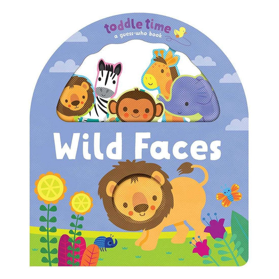 Toddle Time: Jungle Faces