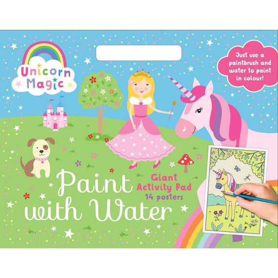 Unicorn Magic: Paint with Water Giant Activity Pad