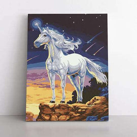 PaintbyNumber-40x50cm  unicorn of the universe