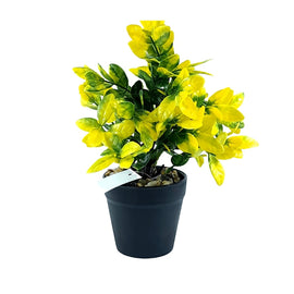 Artificial Plant- Yellow Style 16 15cm