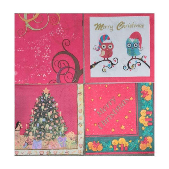Christmas Napkins (20 Pack)
