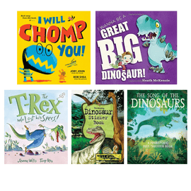 The Big Dinosaur Book Pack for Kids (5 Books)