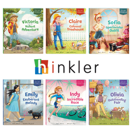 We Are Girls Hinkler Book Pack (6 Books)