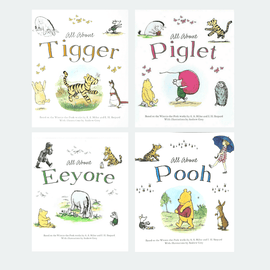 Winnie-the-Pooh and Friends Book Pack (4 Books)