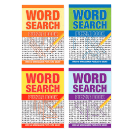 Word Search: Puzzles to Solve Bundle (4 Books)