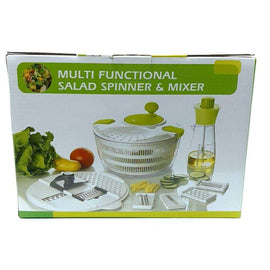 Greenies Multifunctional 8pcs Set with Salad Spinner
