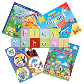 Play School Activity Book Bundle (4 Books)