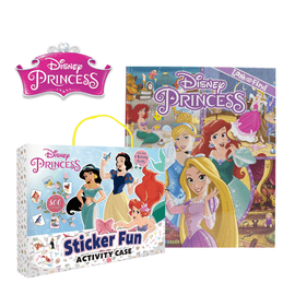 Disney Princess: Activity pack and Look & Find Bundle (2 Books)