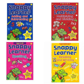 Snappy Learner: Ultimate 4 Set (4 books) Ages 6 to 8