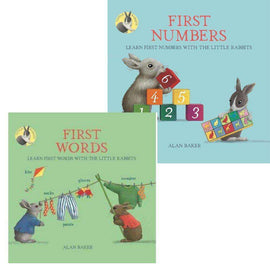 Little Rabbits Book Set Pack (2 books)