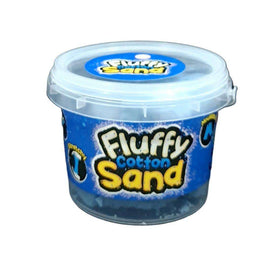 Fluffy Cotton Sand-Soft,Stretchy,Mouldable- Blue