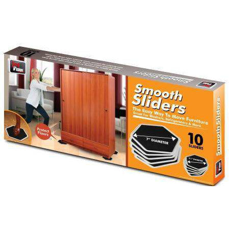 "Smooth Sliders 7"" 10 Pack"