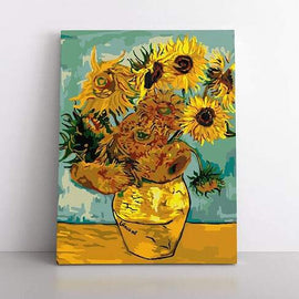PaintbyNumber-40x50cm  Vincent's Sunflowers