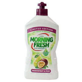 Morning Fresh 400Ml Dishwashing Liquid Passionfruit & Pear Limited Edition