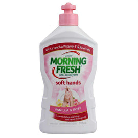 Morning Fresh 350Ml Dishwashing Liquid Vanilla & Rose Ultra Concentrate