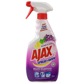 Ajax 500Ml Spray N Wipe Trigger Multi Purpose Lavender & Citrus