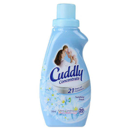 Cuddly 500Ml Fabric Conditioner Concentrate Sunshine Fresh