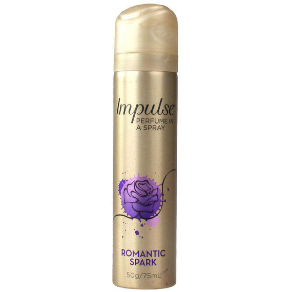 Impulse 50G Body Fragrance Romantic Spark
