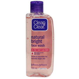 Clean & Clear 100Ml Face Wash Natural Bright