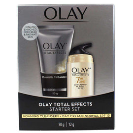 Olay Total Effects Start Set Foaming Cleanser + Day Cream Normal Spf 15