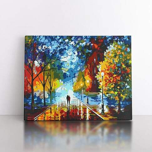40x50cm  Walk through Autumn