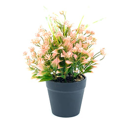 Artificial Plant- Pink Style 23 15cm