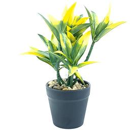 Artificial Plant- Yellow Style 22 15cm